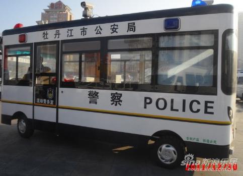 即将投入使用的新型警车